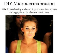 DIY Microderm. I just tried this. It works. My face is so smooth. Do it!