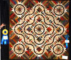 Feathered Goose, Quiltworx.com, Made by Leslie Kiger.