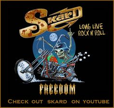 skard rock band ~ long live rock n roll Marshall Amplification, Live Rock, Rock Rock, Iron 883, Motorcycle Clubs, Street Glide, Harley Davidson Bikes, Chopper, Rock Bands