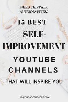 The Most Inspiring Youtube Channels For Self-Improvement