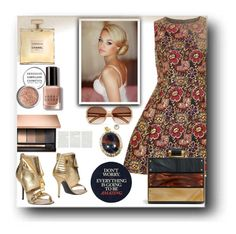 """""""Untitled #876"""" by pesanjsp ❤ liked on Polyvore featuring Dorothy Perkins, Moschino, Obsessive Compulsive Cosmetics, Bobbi Brown Cosmetics and Chloé"""