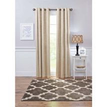 Walmart: Better Homes and Gardens Damask Blackout Grommet Window Panel