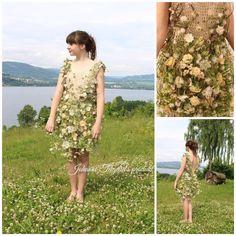 Floral dress by Johanne Teigelid