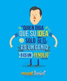 IXOUSART: Las mejores frases del IV Congreso de #Publicidad Roast Brief ilustradas