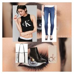 """Calvin Klein"" by emmaraej on Polyvore featuring Calvin Klein and Calvin Klein Jeans"