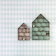 Papel Pintado Arlequín Verde - BelandSoph.com