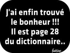 J'ai enfin trouvé le bonheur ...  ~ citation français ~
