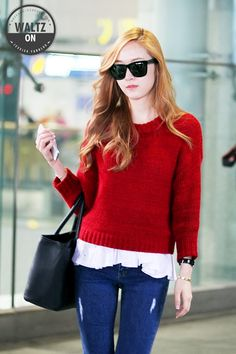 SNSD Jessica airport fashion - May 15