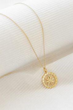Compass Necklace  – Francesca Jewellery