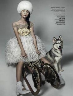 История игрушек в журнале Vogue Russia