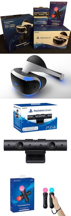 PC and Console VR Headsets: Sony Ps Vr Starter Bundle Virtual Reality Headset (For Playstation 4) BUY IT NOW ONLY: $899.99