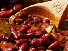 Guy Fieris recipe for Old-School Baked Beans.
