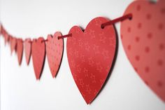 Heart Paper Bunting