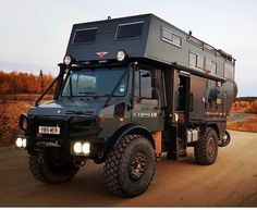 An Overland offroad Overland Truck, Overland Trailer, Expedition Vehicle, Zombie Vehicle, Bug Out Vehicle, Kombi Motorhome, Camper Trailers, Campers, Iveco 4x4