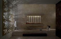 Awesome! A horizontal shower!
