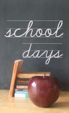 back to school photos