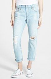 Levi's 'Customized 501®' Boyfriend Jeans (Light)
