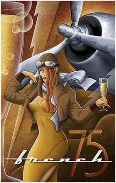 FRENCH 75. This would nicely complement the other two Kungl aviation prints we have. If only it weren't a limited run.
