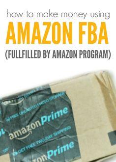 How to make Money Using Amazon's FBA Program - Fulfilled by Amazon Program)!