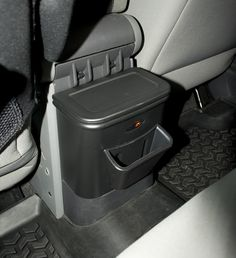 All Things Jeep - Rear Seat Organizer by Rugged Ridge for Jeep Wrangler JK (2007-2010)  $34.99