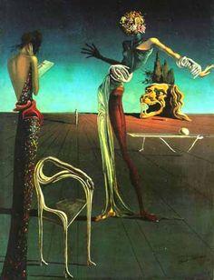 """Сальвадор Дали """"Женщина с головой из роз"""" (1935)"""