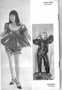 VINTAGE LATEX RUBBER AND RETRO FETISHES