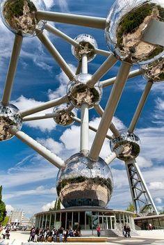 10 Best Places to Holiday in Belgium (100+ Photos) | The Atomium - Brussels, Belgium