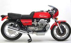 MOTO GUZZI 850 LE MANS 1975 More Moto Guzzi Motorcycles, Cool Motorcycles, Vintage Motorcycles, Cafe Racer Bikes, Cafe Racers, Motorbike Design, Motorcycle Manufacturers, Motosport, Classic Bikes
