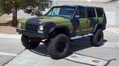 Bad ass. Jeep Cherokee