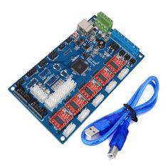 US$50.68 MKS Gen V1.2 3D Printer Control Board With DRV8825 Driver