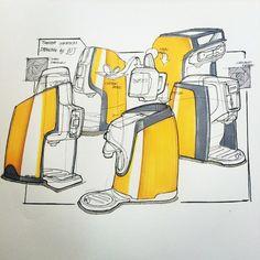 #coffeemaker #coffeemakersketch  #sketch #sketching #sketchaday #draw #design…
