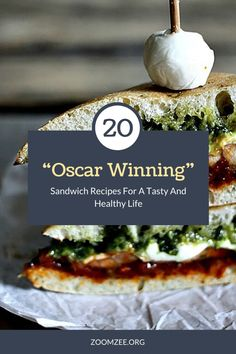 20 'Oscar Winning' Sandwich Recipes For A Tasty And Healthy Life Healthy Sandwiches, Wrap Sandwiches, Sandwich Recipes, Snack Recipes, Cooking Recipes, Drink Recipes, Cooking Tips, Snacks, Grilled Pesto Chicken