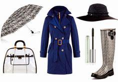 Outfits para días lluviosos