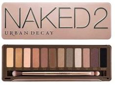 Urban Decay Naked 2 Palette with neutral tones and earth tones will be perfect for those with olive skin who usually have brown or green eyes with it's array of Dark golden browns, light pinks, burnt orange, and beige.