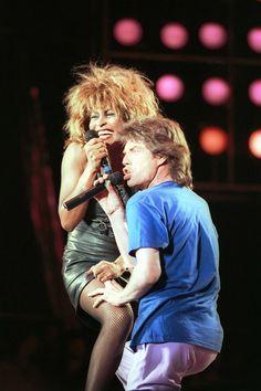 Tina Turner & Mick Jagger, Live Aid, 1985