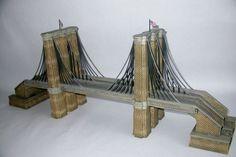 Department 56 Christmas in the City Historical Landmark Series Brooklyn Bridge (2005) Retired