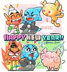The amazing world of gumball new years