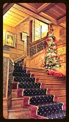 Holiday Cheer within the elegant Foyer of the 1st Level at Tippecanoe Place Restaurant in downtown South Bend, IN