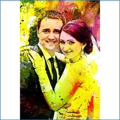 An #artistic look to your special #wedding moment..this and much more #awesome #photo effects