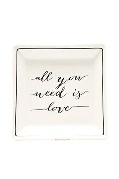 Love Graphic Jewelry Tray | Forever 21 #forever21home