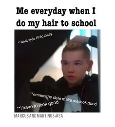 I struggle every morning trying to do my hair