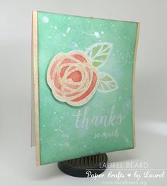 Paper Crafts by Laurel – Christian, Mother, Creator of Lawnscaping Challenges