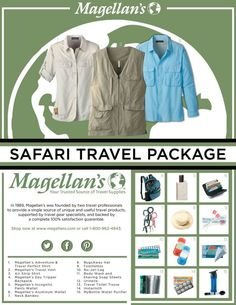 Safari clothes