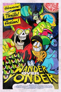 DarksideStraxus Commission: Wander Over Yonder by MichaelJLarson How To Train Your, How Train Your Dragon, Thomas Man, Wonder Over Yonder, Tom Kenny, Marvel Studios Movies, Shot By Shot, Best Screenplay, All Video Games
