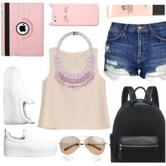 pink summer outfit #4