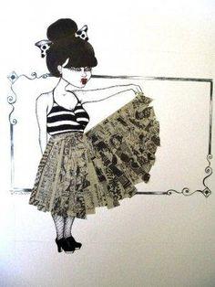 Fashionably Drawn showcases local artists' fashion illustrations - SF Unzipped