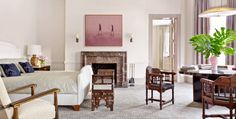 Boston house by Dell Mitchell and interior designer Thad Hayes