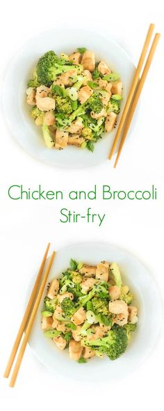 Chicken and Broccoli Stir-fry Recipe - A fast, easy and healthy ...