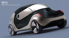 Apple has long been rumored to be working on an Apple car. . Italy based auto designer Liviu Tudoran has taken cues from the Apple products and designed a concept car called iMove for the year 2020. Is this the Apple car of your dreams?