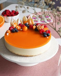 Just Eat It, Secret Recipe, Sweet Recipes, Panna Cotta, Mango, Cheesecake, Brunch, Goodies, Sweets